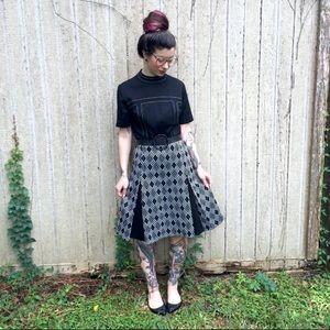 Vintage mid century retro dress